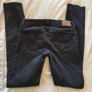 Abercrombie & Fitch gray stretchy pants 16 slim